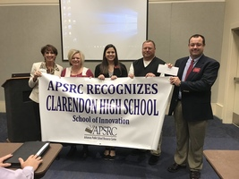 Clarendon High School receives $28,000 grant from APSRC