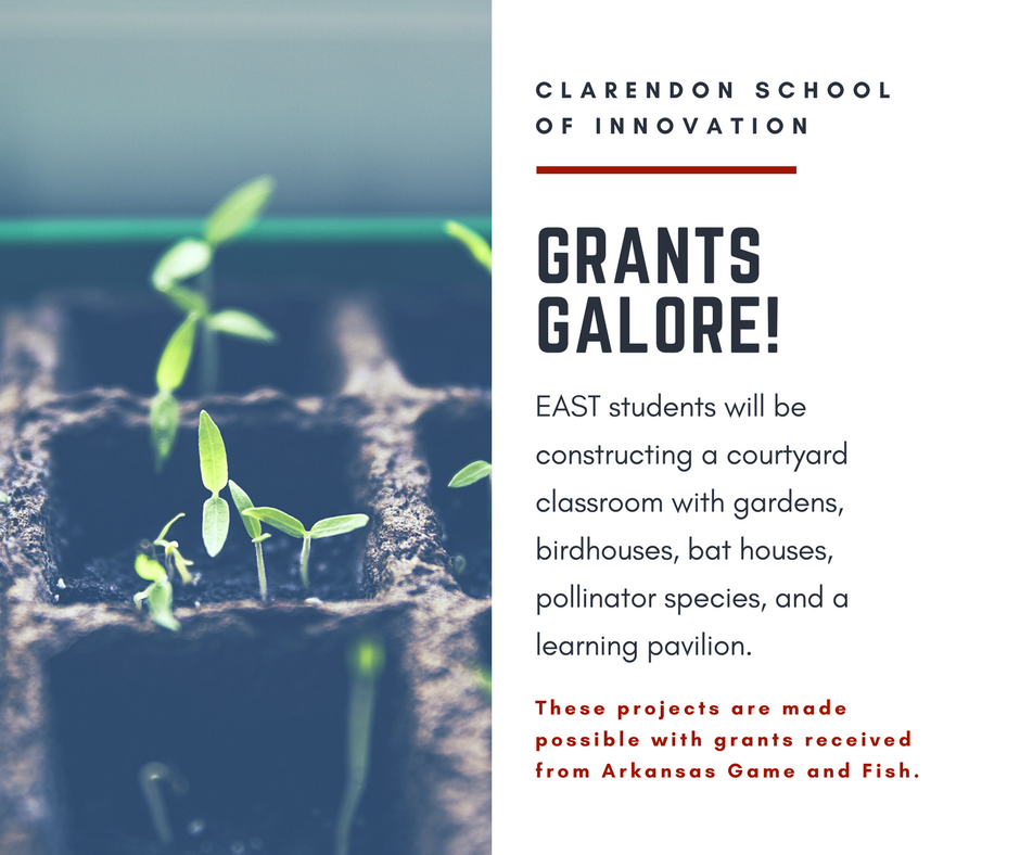 Clarendon School of Innovation receives AR Game and Fish Grant