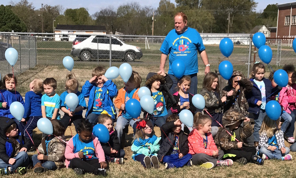 Autism Awareness Balloon Release